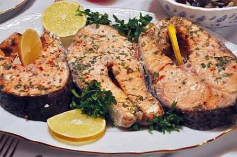 Рыба к праздничному столу