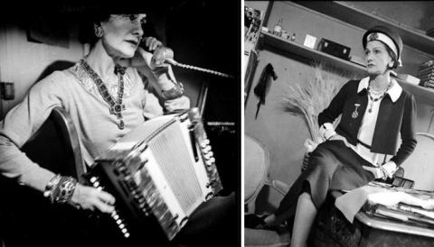 """14 редких фото Коко Шанель из отеля """"Ритц"""""""