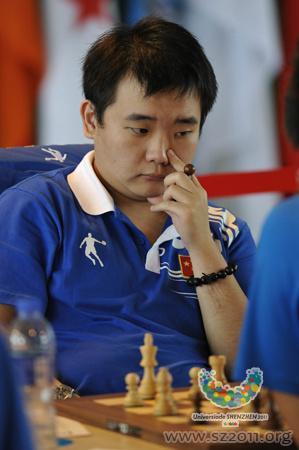 Китайский шахматист Ли Чао - победитель Универсиады 2011 в шахматах