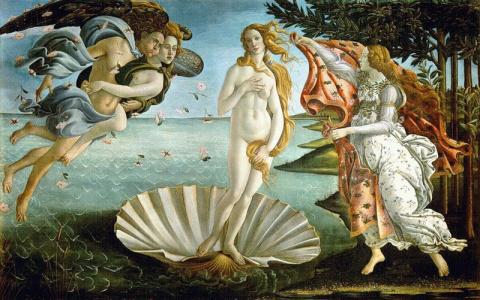 Рождение Венеры - Sandro Botticelli