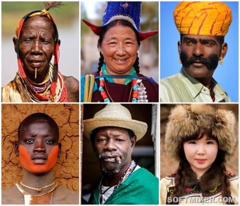 Люди с отдаленных уголков планеты
