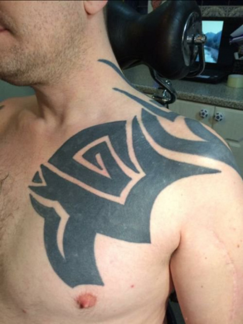 Исправление старой татуировк…