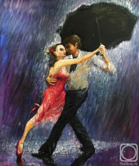 История одной песни. Танго. Дождь идёт.