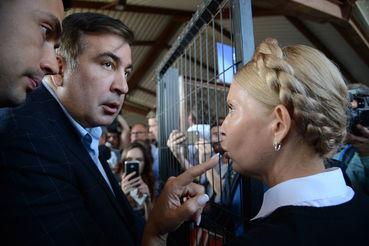 Французское СМИ: Саакашвили …
