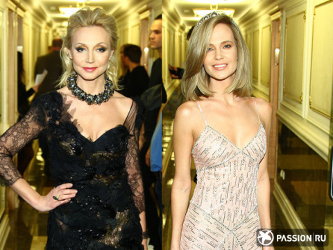 Битва декольте: Кристина Орбакайте, Глюкоза и другие звезды на показе Валентина Юдашкина
