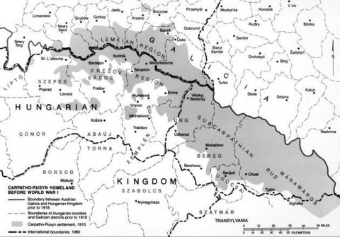 Забытая трагедия Карпатских русин