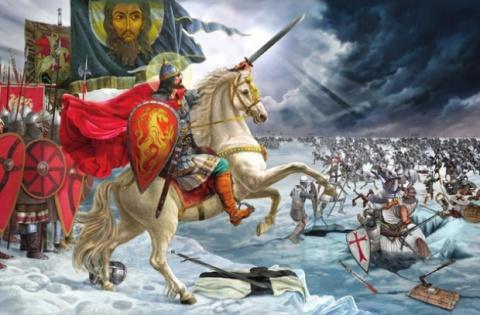 775 лет назад произошло Ледо…