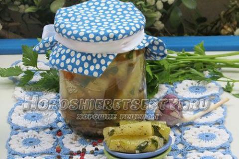 Салат из огурцов на зиму пал…