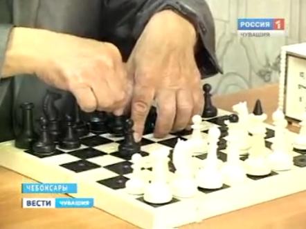 Шахматный матч по Скайпу среди слабовидящих шахматистов