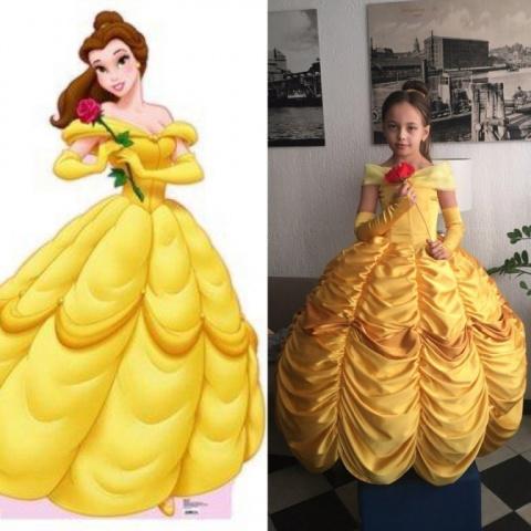 Платье принцессы Белль на Но…