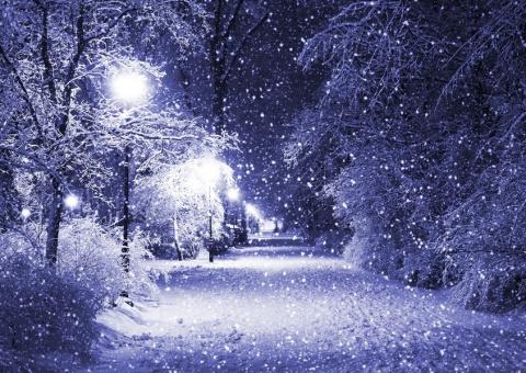 Пусть снег идет.....