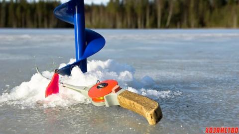 Моя первая ледная рыбалка в …