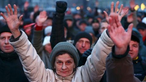 Марш рассерженных белорусов: электорат Лукашенко требует его отставки