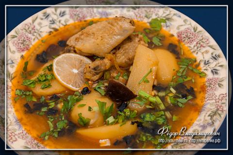Густой суп бозартма - блюдо …