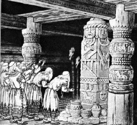 Язычество восточных славян накануне крещения Руси: Религиозно-мифологическое взаимодействие с иранским миром