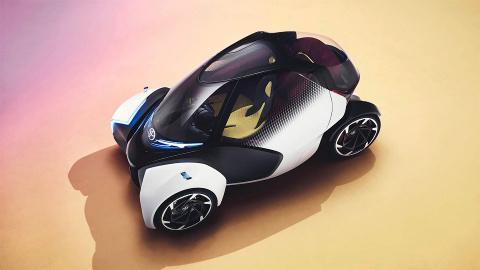 Toyota придумала трехколесну…