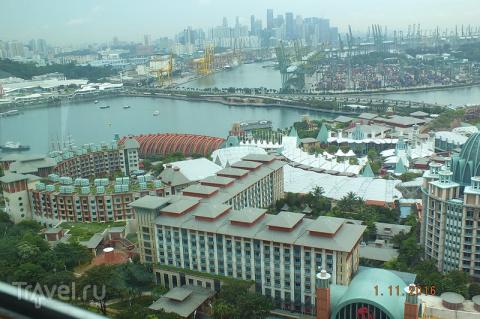 Сингапур. Остров  Sentosa. Б…