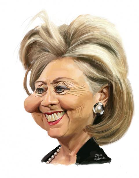 Хиллари и её водила