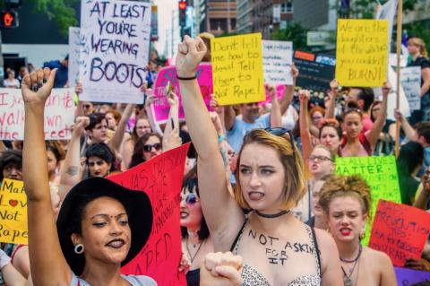 Миро о феминистках