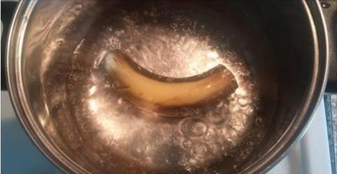 Отвар из банана с добавлением корицы