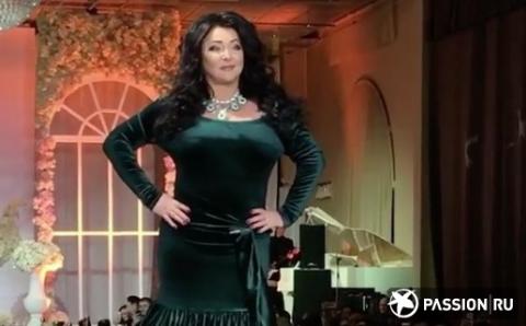 53-летняя Лолита Милявская вышла на подиум