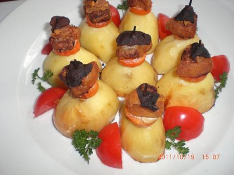 Опять запеченная картошечка, но по-новому!!! Фото-рецепт. Рамзия RA