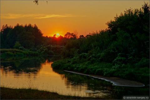 Сказочная ночь на исходе лета