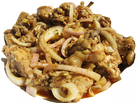 Хе из курицы — блюдо в котор…