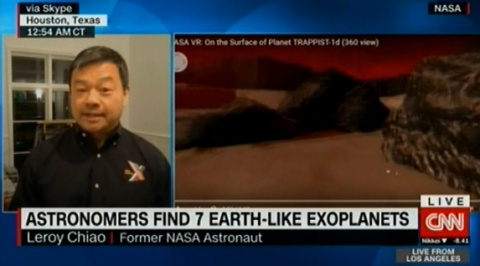 """Астронавт NASA: """"Для изучения открытых планет человечеству необходим серьёзный технологический прорыв"""""""
