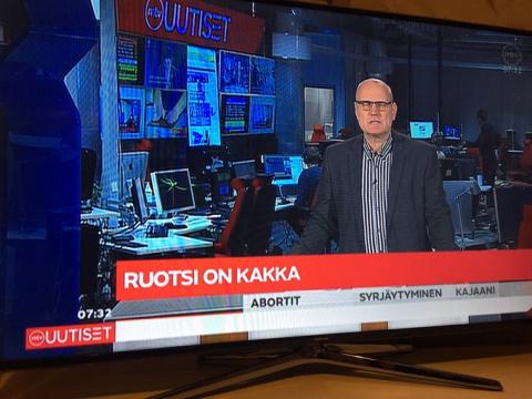 Швецию назвали какашкой в эф…