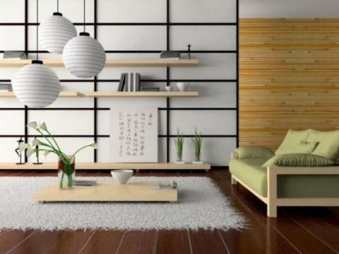 26 светлых гостиных в японском стиле