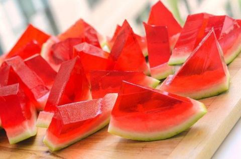 Желе из арбуза - красиво, вкусно и полезно! Соте из баклажанов от Серёги