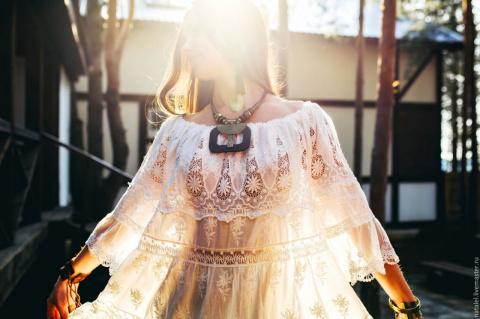 Шикарно, дорого, аристократично: белый бохо — лучший вариант на лето!