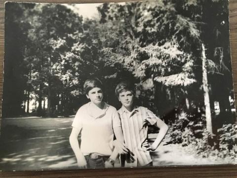 ~1978 Братья Шувановы Андрей и ещё один Андрей я и раньше их не различал, но ребята классные!