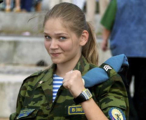 Фоторепортаж: девушки-курсан…