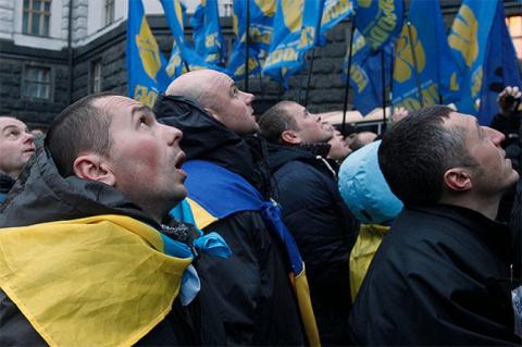 Украинский парадокс: Майдан …
