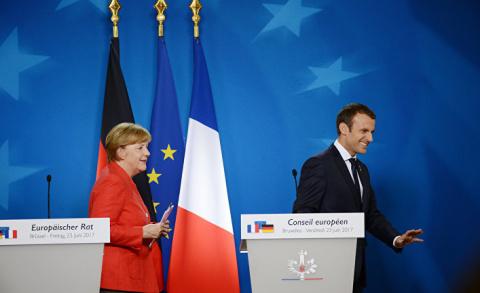 Как Меркель «олландизировала» Макрона. Atlantico, Франция