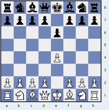 1.e4 e6 Французская защита