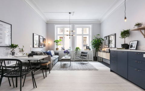Как вам такой вариант 2-хкомнатной квартиры на скромных 37 кв. метрах?