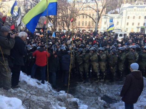 МОЛНИЯ: прямо у администрации Порошенко объявлен новый «Майдан» (+ФОТО)