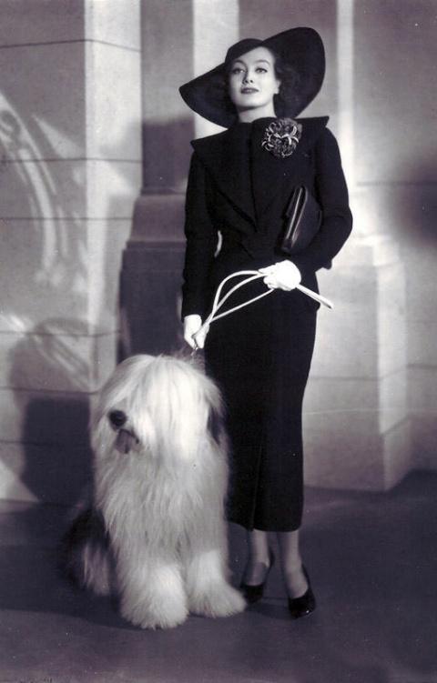 Ретро: Женские костюмы 30-х годов
