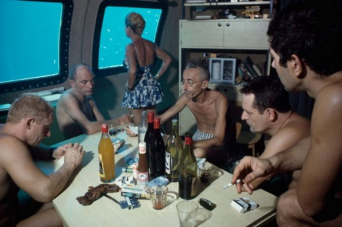 Жак-Ив Кусто: 30 дней в бочке на дне океана