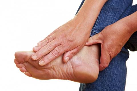 Избавляемся от шишки на ноге…
