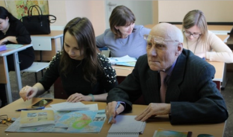 89-летний студент пермского …