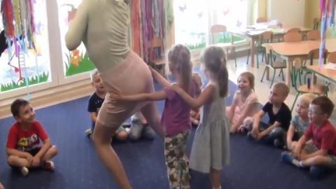 Хороший детский садик и игры…