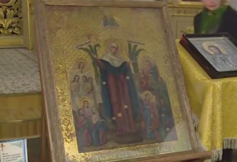 Чудотворную икону привезли в Петрозаводск