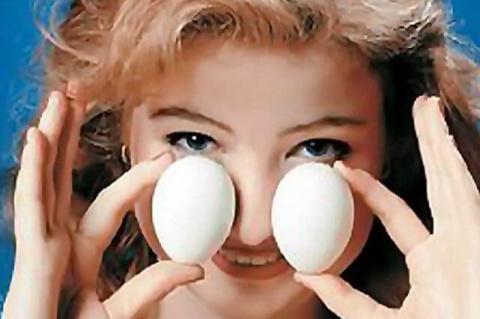 Яйца к носу
