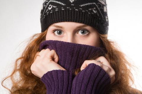 Японцы изобрели шарф-трансфо…