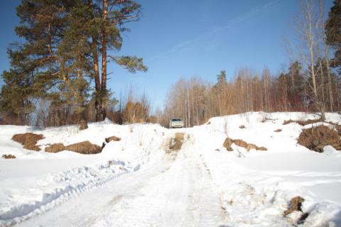 На Урале прокуроры не смогли доехать до посёлка, жители которого жаловались на отсутствие дороги