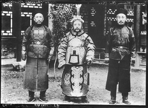 Юань Шикай и Чжан Цзолинь. С…